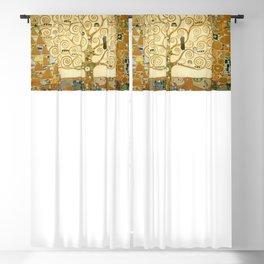 Gustav Klimt - Tree of Life Blackout Curtain