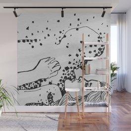 Stars and Ash Wall Mural