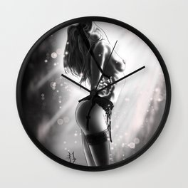 Luces Wall Clock