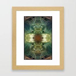 Tehran, Iran - Augmented Topography Giclée Print Framed Art Print