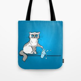 Cats are a**holes Tote Bag