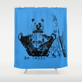 Happy To Bear It With You Shower Curtain