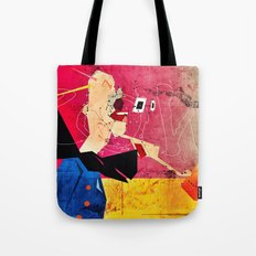 Exploding Soda Can X Tote Bag