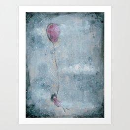 Float Away -VACANCY #1 Art Print