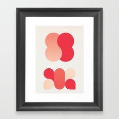 {x Framed Art Print
