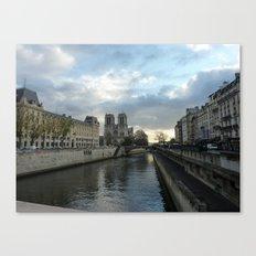 Seine & Notre Dame Canvas Print
