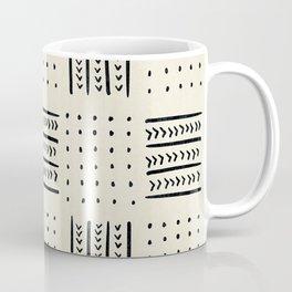 Mud Cloth in Cream Coffee Mug