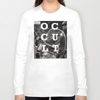 occult Long Sleeve T-shirts featuring Occult by Mario Zoots