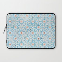 Hara Tiles Light Blue Laptop Sleeve