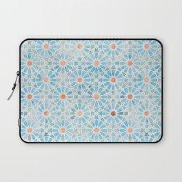 Hara Tiles Light Blue Laptop Sleeve