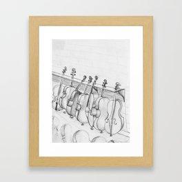 Cellos Framed Art Print