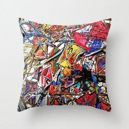 Kite Party Throw Pillow