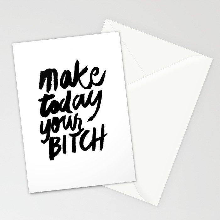 Motivation Stationery Cards