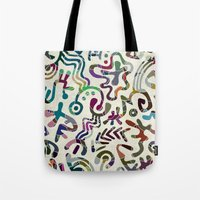 play Tote Bags featuring Play! by Angelo Cerantola