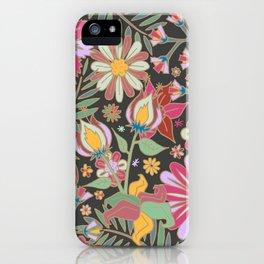 Nostalgic Garden iPhone Case