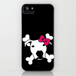 Lita Crossbones iPhone Case
