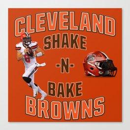 Shake n Bake  Browns Canvas Print