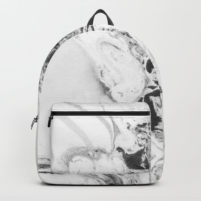 Marble Watercolor Backpack