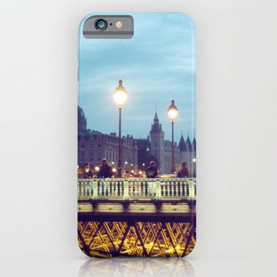 Paris at Night: Pont Neuf iPhone & iPod Case