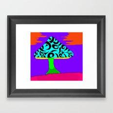 Fantasy Mushroom Framed Art Print