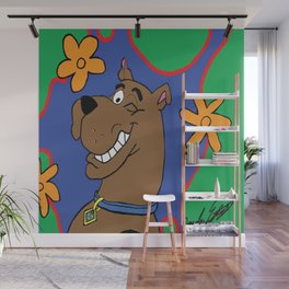 Scooby Wall Mural