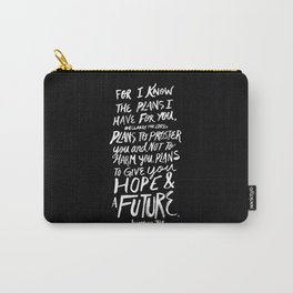 Jeremiah 29:11 II Carry-All Pouch