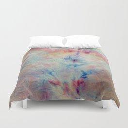 Tye Dye Kaleidoscope Sunset Duvet Cover