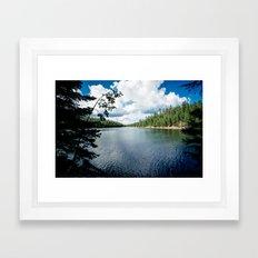 Bear Canyon Lake Framed Art Print