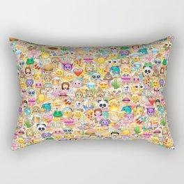 Emoticon pattern Rectangular Pillow