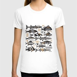 Boho Fishes T-shirt