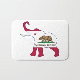 California Republican Elephant Flag Bath Mat