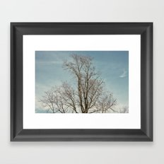 withwinter Framed Art Print