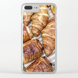 Croissants Clear iPhone Case