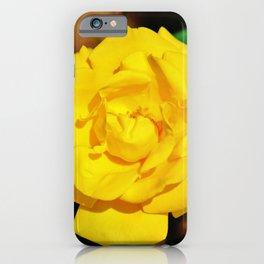 Shockwave Rose iPhone Case