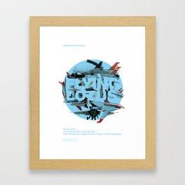Flying Lotus Framed Art Print