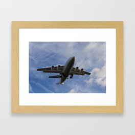 City Jet British Aerospace Avro RJ85 Framed Art Print