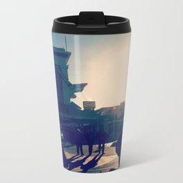 Ocean City Boardwalk Metal Travel Mug