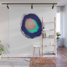 Metallic Hole Wall Mural