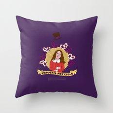 Veruca Salt Throw Pillow