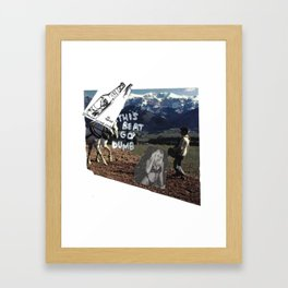 BEAT GO! Framed Art Print