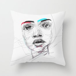 Lost in Your Mind Throw Pillow