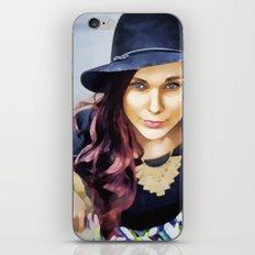 Her own fashion show iPhone & iPod Skin