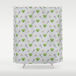 FrankenBaby Shower Curtain