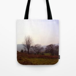 Dusk On The Hills Tote Bag