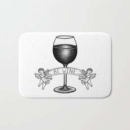 Be Wine Bath Mat