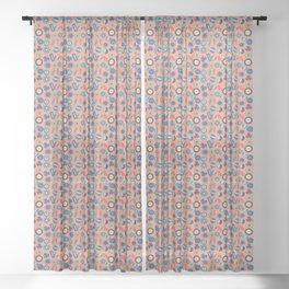 Button Box Sheer Curtain