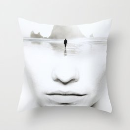 in thoughts Throw Pillow