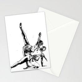 ballet dancers Stationery Cards
