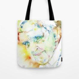 POPE FRANCIS - watercolor portrait.2 Tote Bag