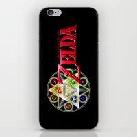 zelda iPhone & iPod Skins featuring ZELDA by September 9